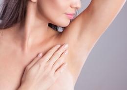 Axilläre Hyperhidrose und Botox
