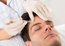 Botoxbehandlung der Zornesfalte bei Migräne